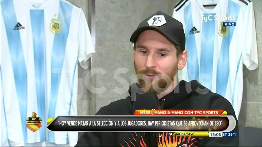 La relación de Messi y sus hijos