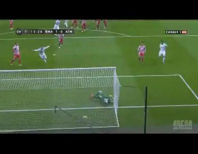 Mirá el golazo de Cristiano Ronaldo al Atlético Madrid.