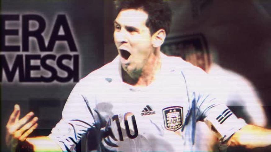 Era Messi. Difícil de conformar