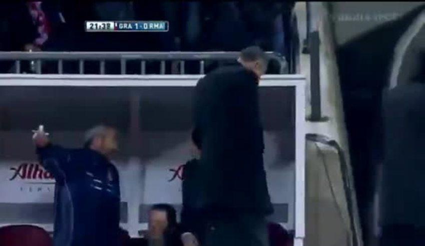 Ronaldo, en contra, hizo el primero del Granada.