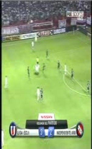 Mirá los goles de Liga 3-Independiente 2 en Quito.