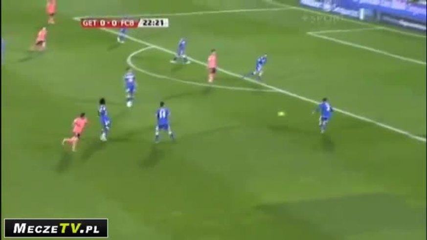 Mirá el gol de Messi.