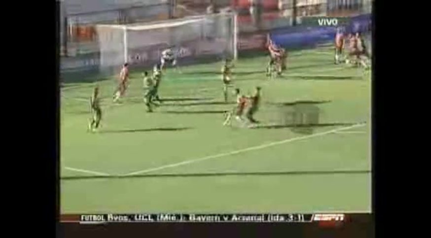 El resumen de Almirante 0 (2) - Armenio 0 (4). (ESPN)