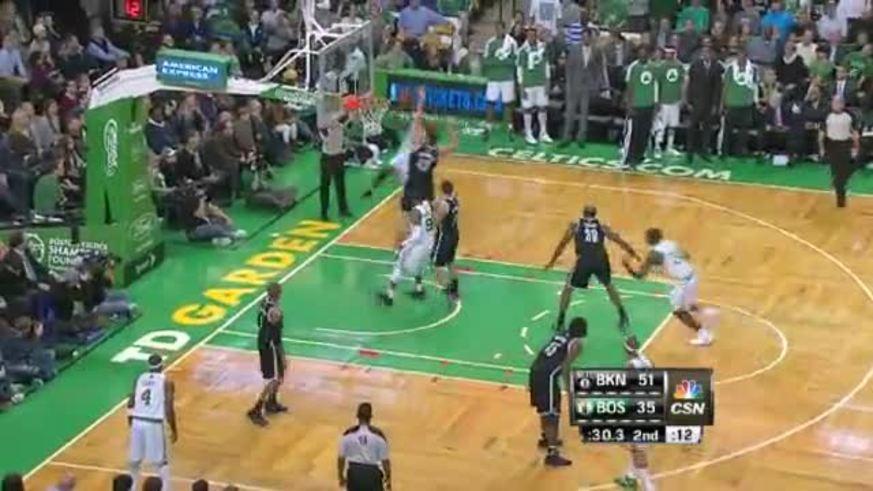 Mirá la pelea entre los Celtics y los Nets.