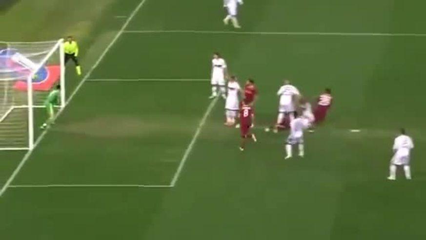 Mirá los goles de Burdisso, Osvaldo y Lamela (2) para Roma.