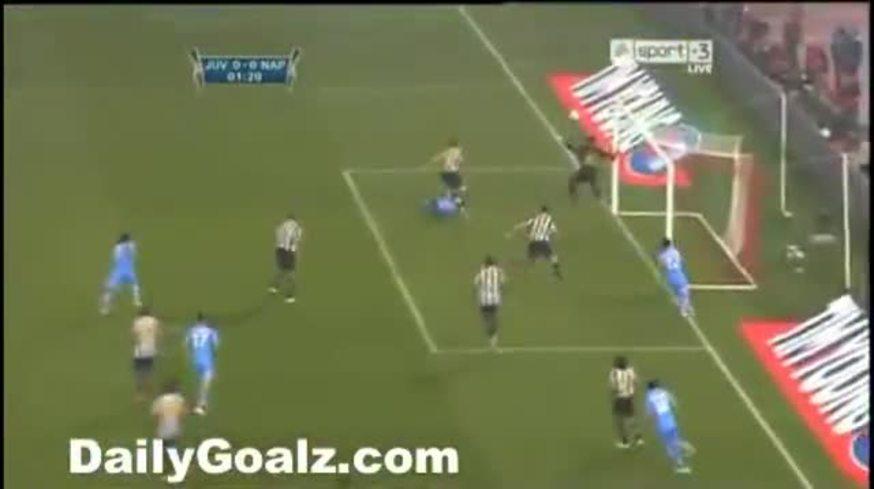 Mirá los goles de Napoli 2 - Juventus 0.