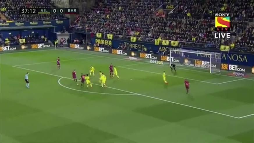 Messi estuvo muy cerca de convertir
