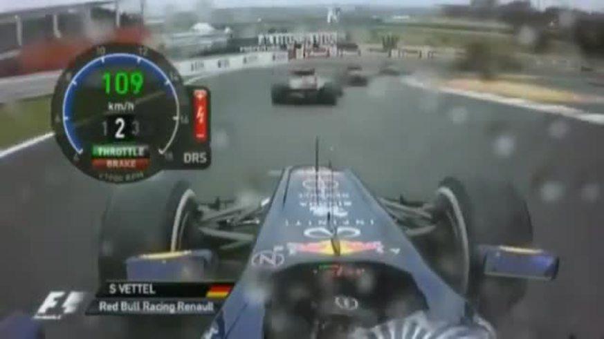 Mira el adelantamiento de Vettel