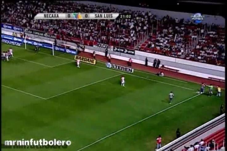 Mirá los goles de San Luis 2- Necaxa 0. (Youtube.com)