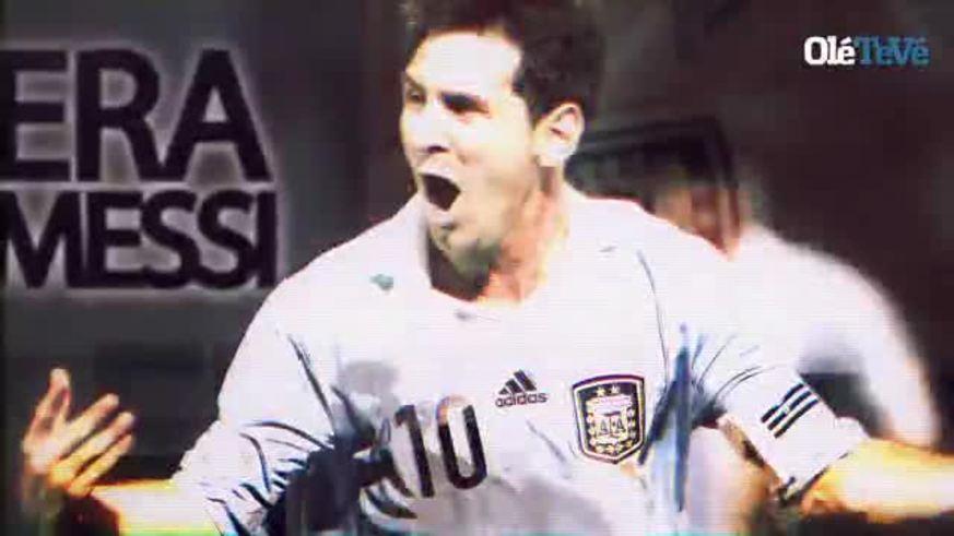 Messi, el camino al récord. Parte 1.