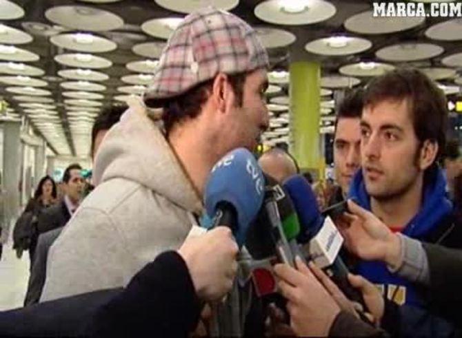 Las palabras de Higuaín al llegar a Madrid. (Marca)