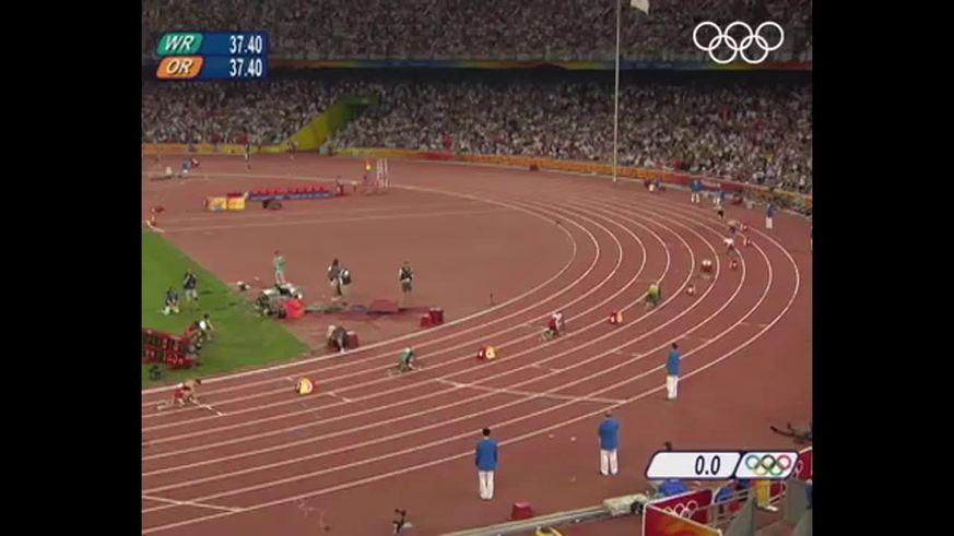 Por esta carrera le sacaron el oro a Bolt