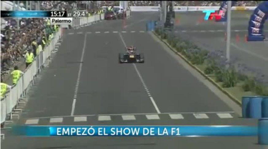 Mirá le exhibición del Red Bull de Ricciardo.
