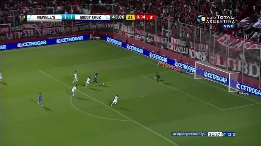 El Morro García marcó el 2 a 1 en el final