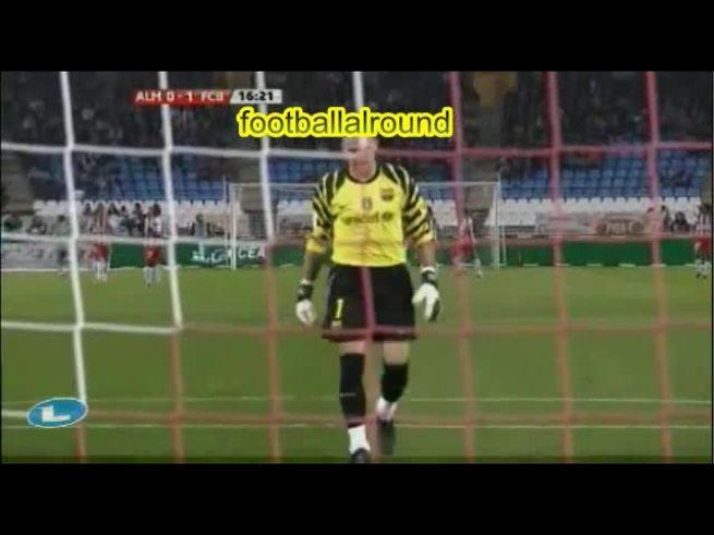 El triplete de Messi al Almería. (Youtube.com)