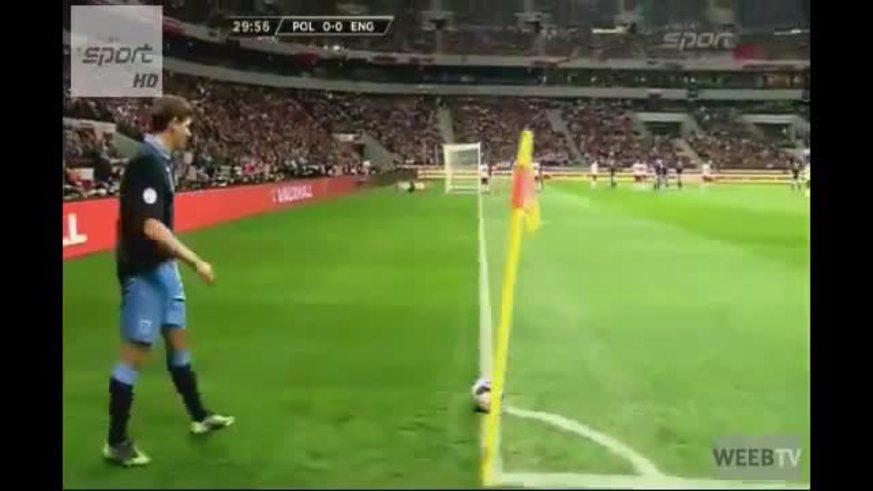 Mirá los goles de Polonia 1 - Inglaterra 1