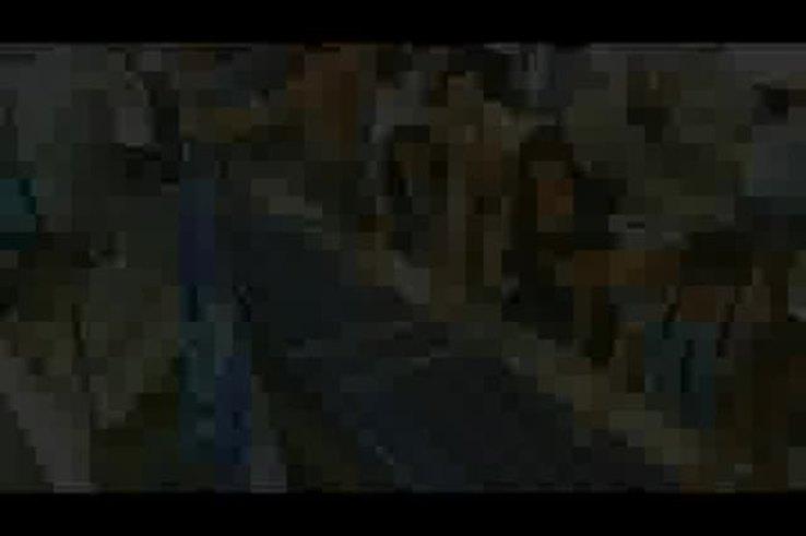 La tribuna de Gremio cedió y muchos hinchas cayeron al foso.