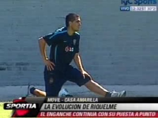 Riquelme salió del consultorio e hizo trabajos de campo.