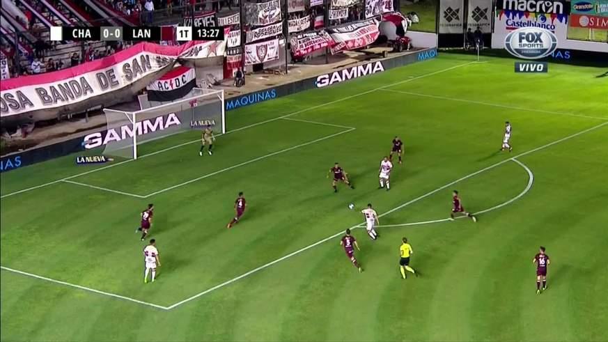 Rodríguez puso el 1 a 0 para Chaca