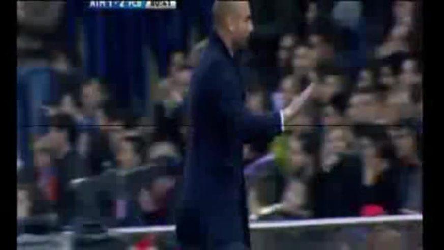 Mirá el gol de Messi ante el Atlético de Madrid