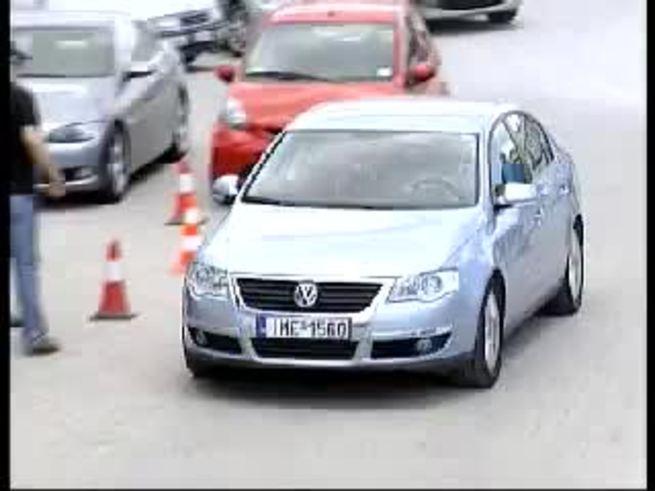 La llegada, entre aplausos, de Ibagaza a la sede del club griego. (You Tube)