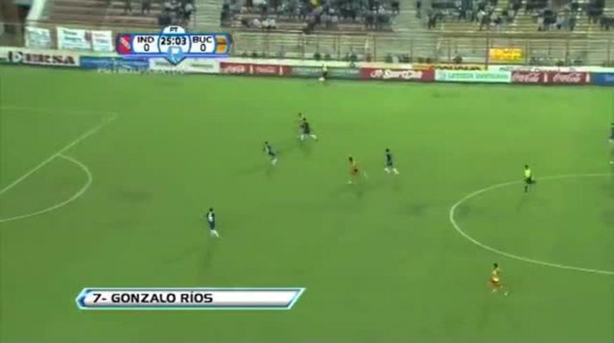 Ríos puso el 1-0