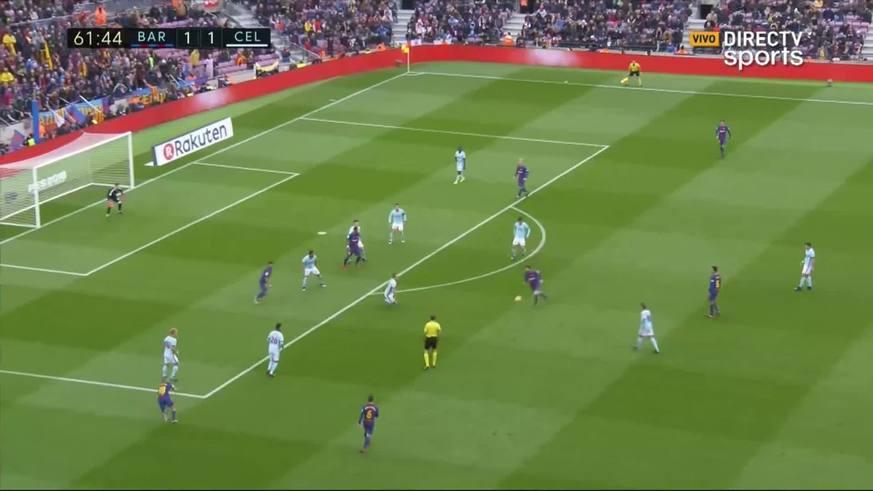 Suárez marcó el 2 a 1 para Barcelona