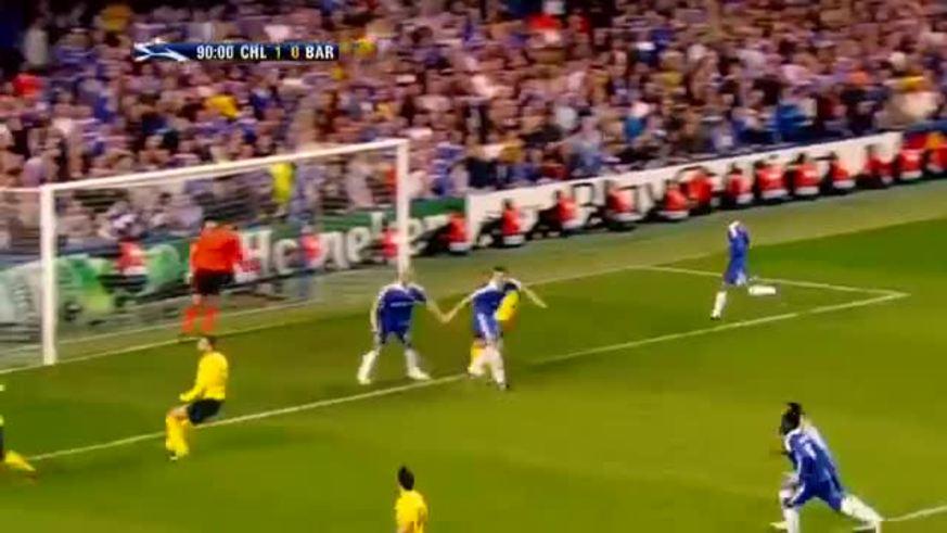 El golazo de Iniesta al Chelsea
