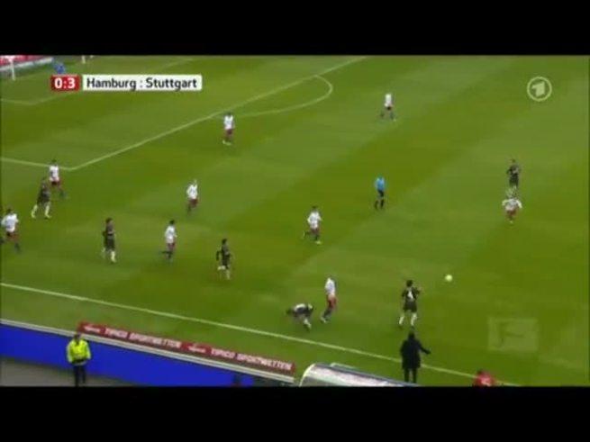 Mirá el terrible foul de Paolo Guerrero en Alemania.