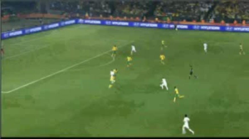 Sudáfrica 0 - Uruguay 3. Todos los goles.