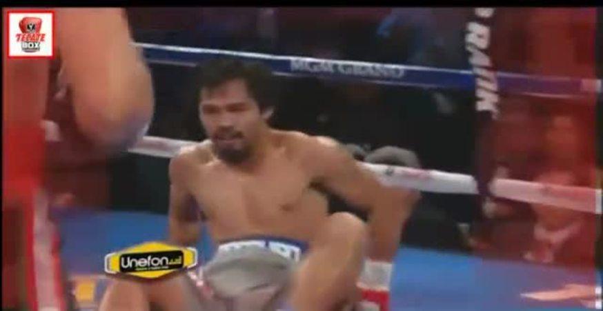 ¿Querés ver un KO tremendo? Mirá el de Márquez a Pacquiao.