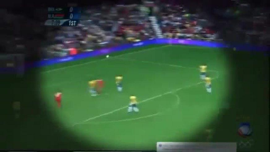 Mirá los goles de Brasil ante Bielorrusia en los JJOO.