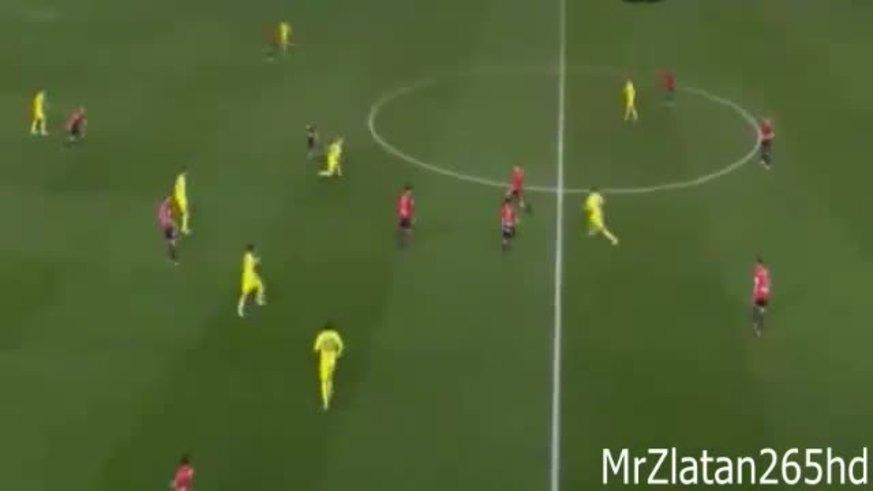 Mirá el golazo que clavó Cani para Villarreal. (Youtube)
