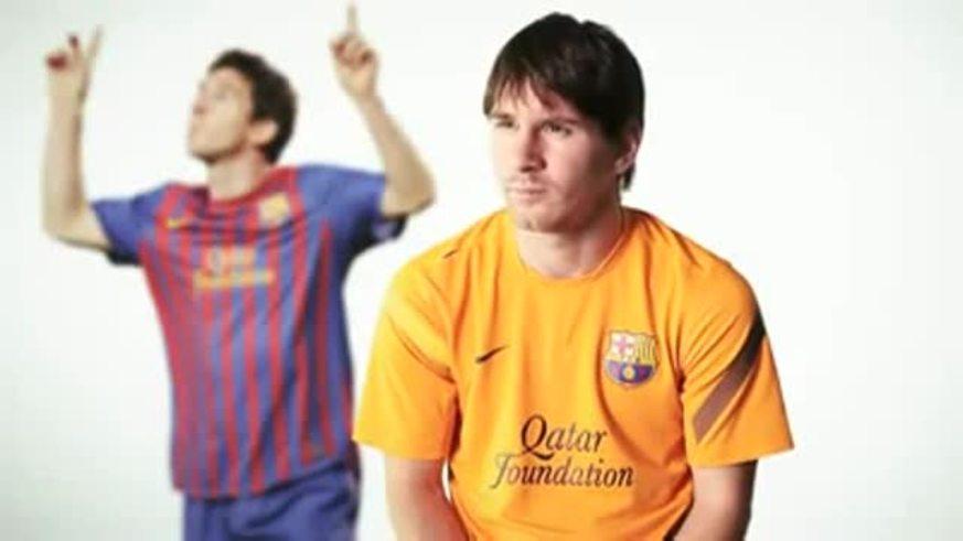 Mirá a Messi palpitando la final.