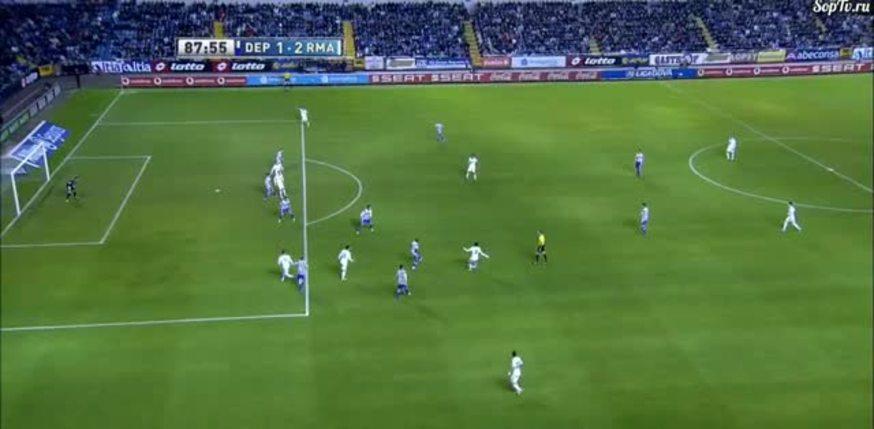Mirá el gol de Higuaín al Deportivo.