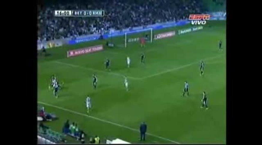 Mirá el resumen de Betis 1 - Real Madrid 0 (ESPN).