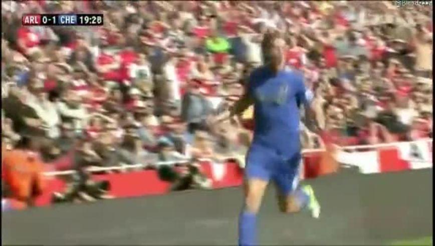 Mirá los goles de Arsenal 1-Chelsea 2.