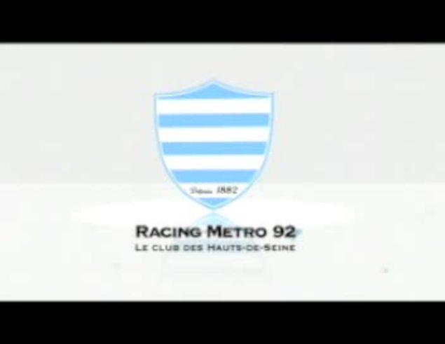 Mirá a Juani entrenando en Croix de Berny. (Racing-metro92.com)