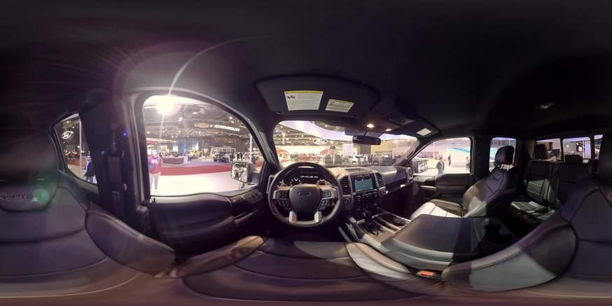 La Ford F50 Raptor en formato 360º