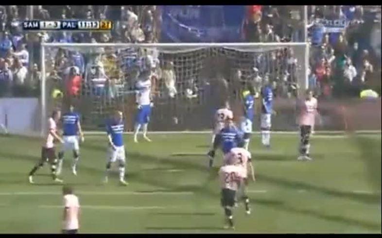 Santiago García la metió para Palermo