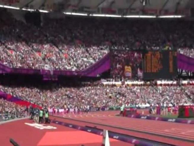 Mirá los 100m con Usain Bolt. (Olé)
