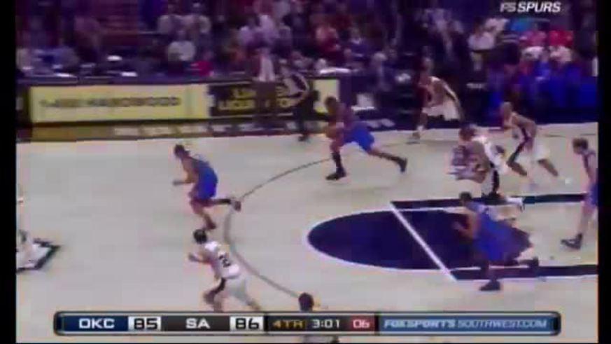 Manu Ginóbili ya bloqueó a otras estrellas de la NBA