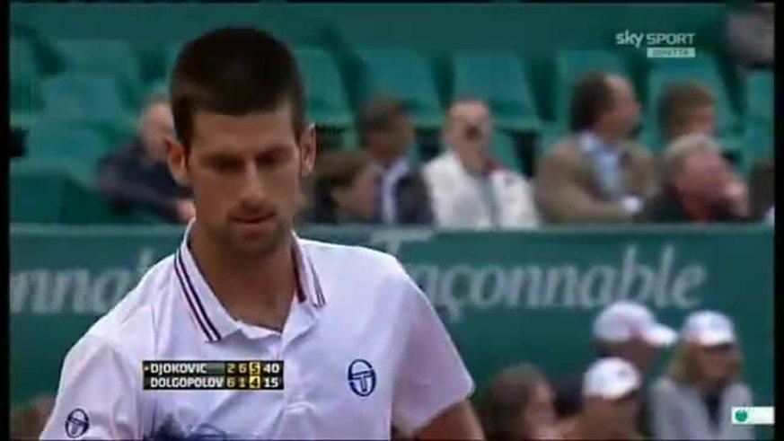 Djokovic, conmovido por la muerte de su abuelo.
