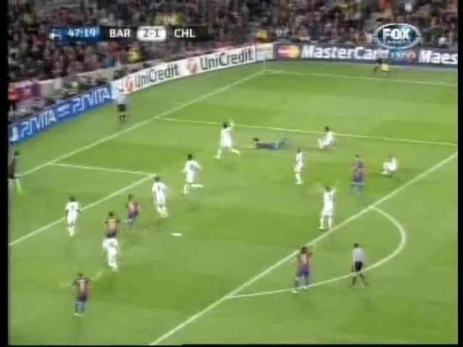 Mirá el penal errado por Messi.
