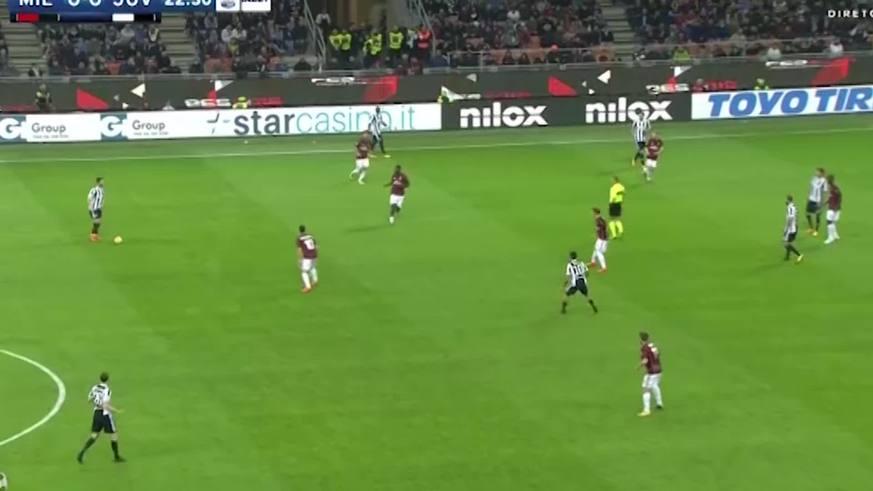Higuaín puso el 1 a 0 para la Juve