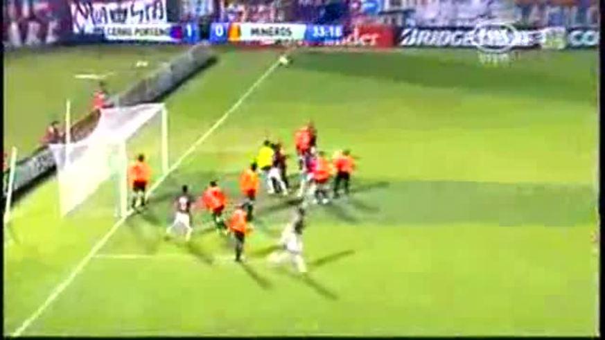 Cerro Porteño goleó 4-0 a Mineros por la Copa.