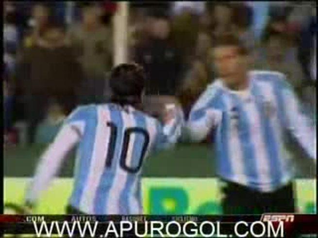 Lo mejor de la goleada Argentina sobre Haití.