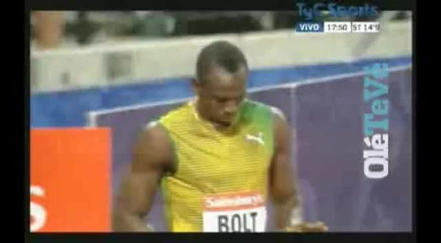 El triunfo de Bolt en la Diamond League de Londres