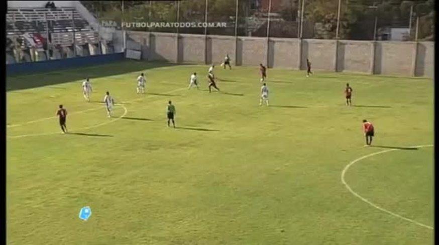 El gol de Bruno Barreto para Douglas Haig