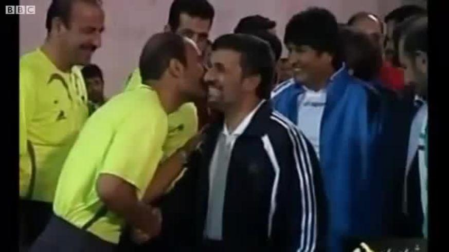 Evo Morales y Mahmud Ahmadineyad le dieron a la pelota.